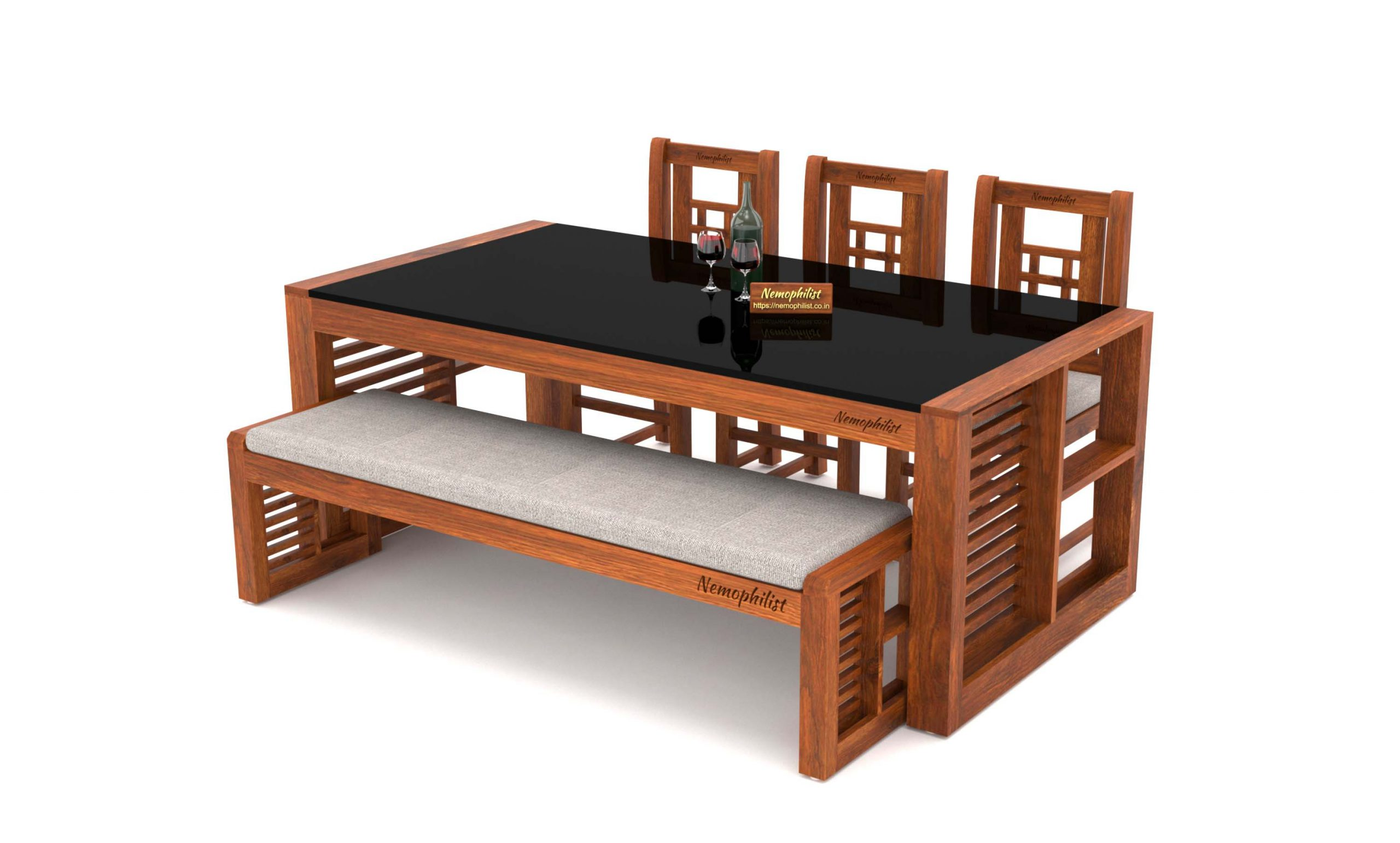 Teak Wood Dining Table Xylophilous, Teak Wood Dining Room Table