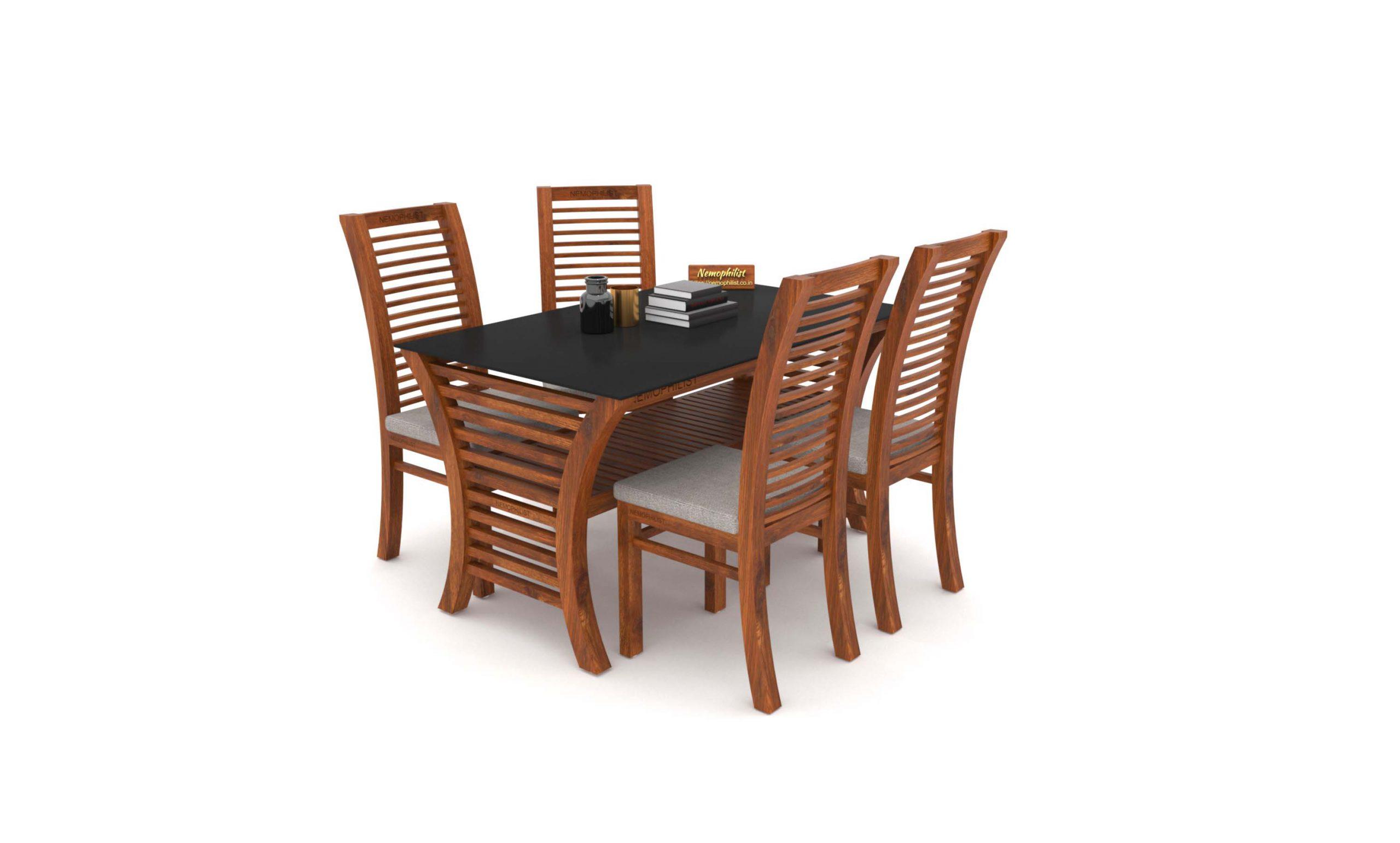 Teak Wood Dining Table Crescentia, Teak Wood Dining Room Table